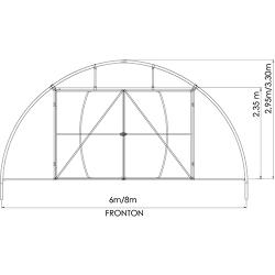 solar tunel 8m/40m