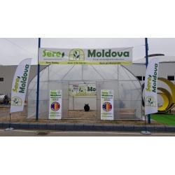 Solar Tunel Galvanizat 6m x 16m
