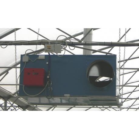 Termogenerator trifazat elicoidal arzator pe gaz metan